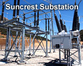 SDG&E Suncrest Substation – 500 kV/230 kV Substation Construction